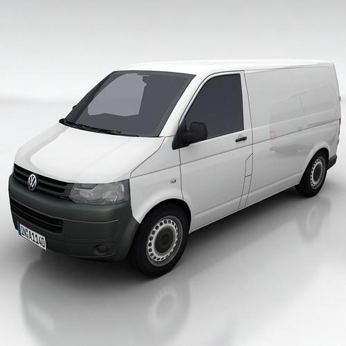 VW Transporter 5b3D model