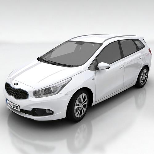 Kia Ceed SW3D model