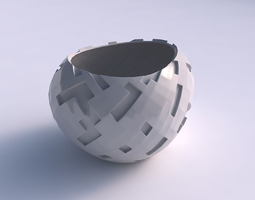 3d print model bowl compressed 2 with cavities