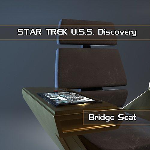 Bridge seat from USS Star Trek Discovery starship