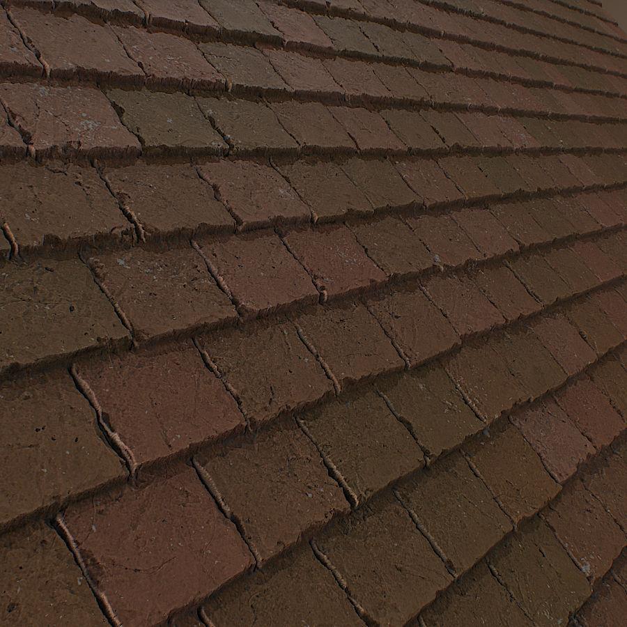 Ceramic roof tile 3D Model | CGTrader.com on Tile Models  id=89263