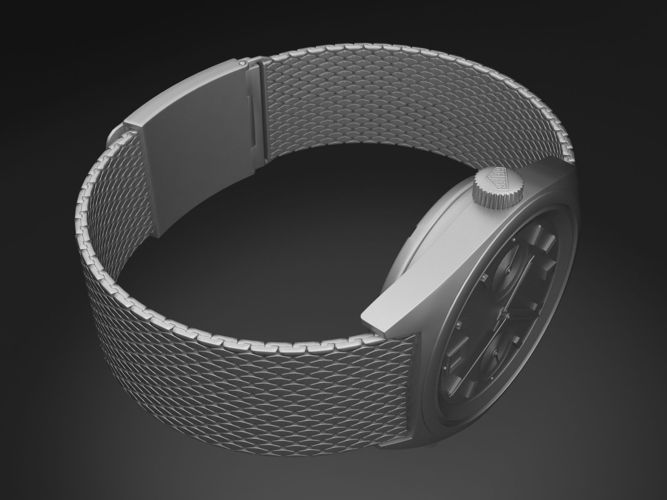 Tag Heuer Carrera 1158 watch 3D Model .max .obj .3ds .fbx ...