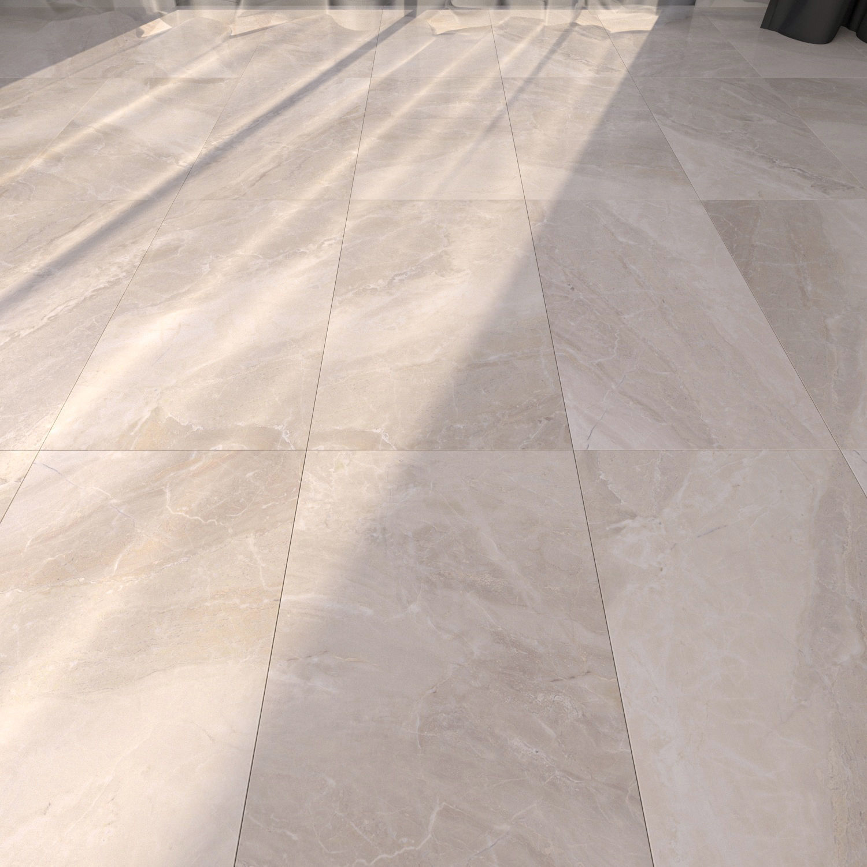 3d Model Marble Floor Alpin Cream Cgtrader