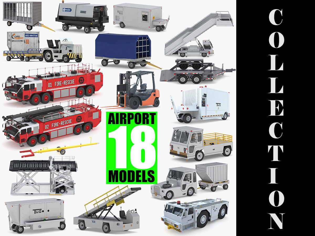 Aiport 18 Models Collection
