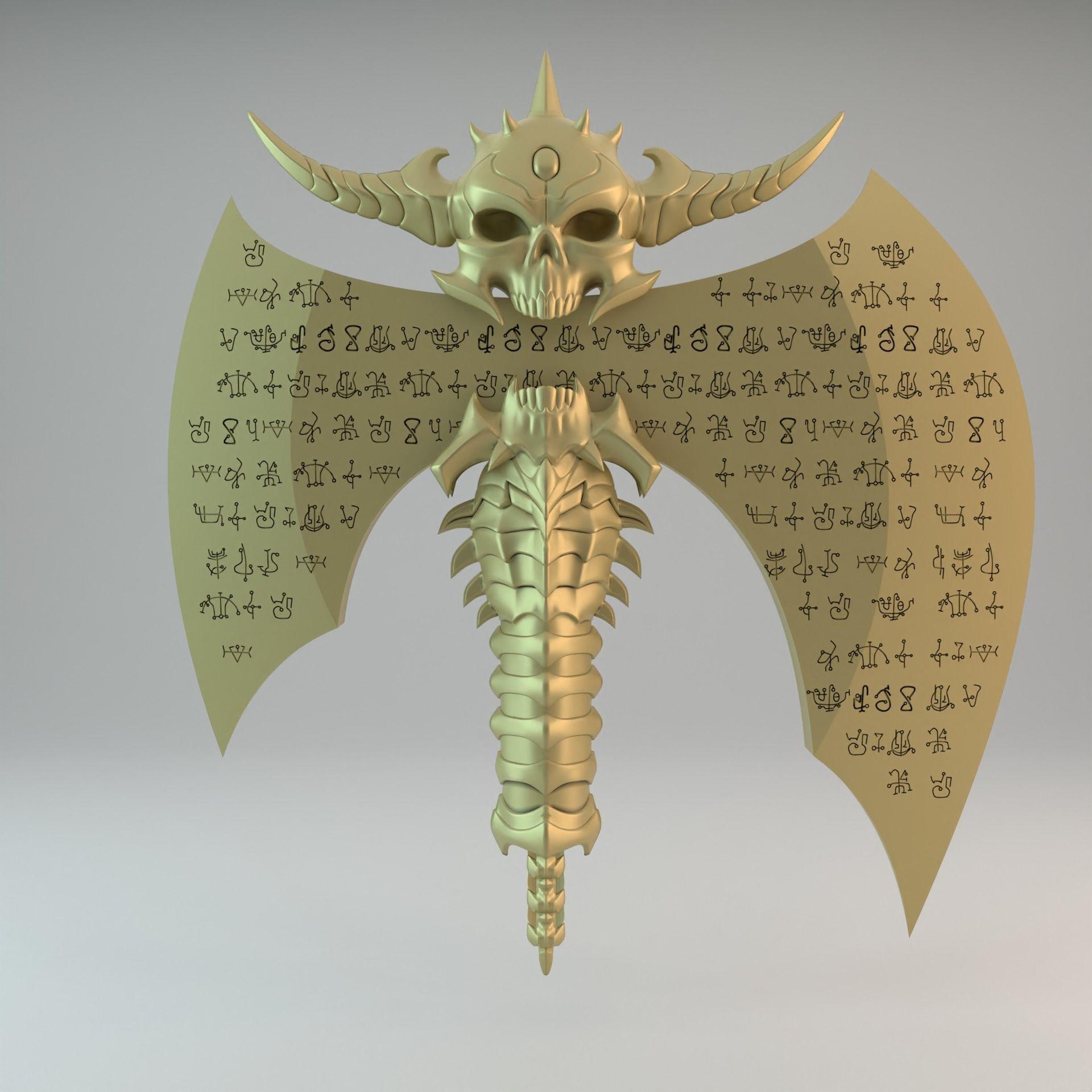 The Marauder Axe Doom Eternal