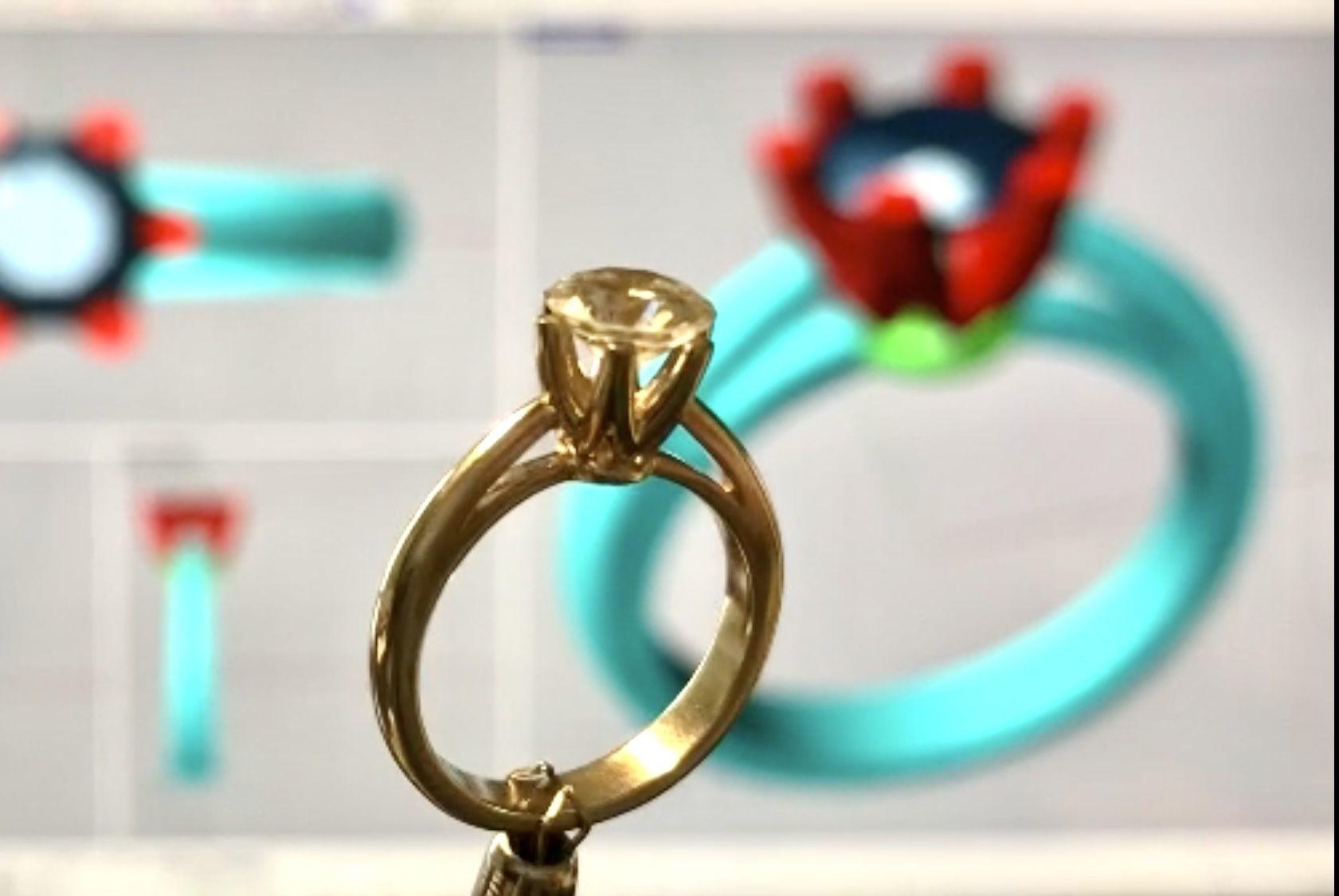 Solitaire Tiffany  Diamond Ring  Anello solitario Sl61