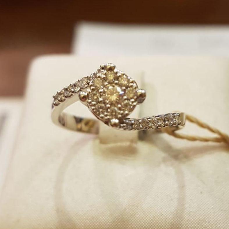Solitaire  Round diamond Anello solitario Sl62