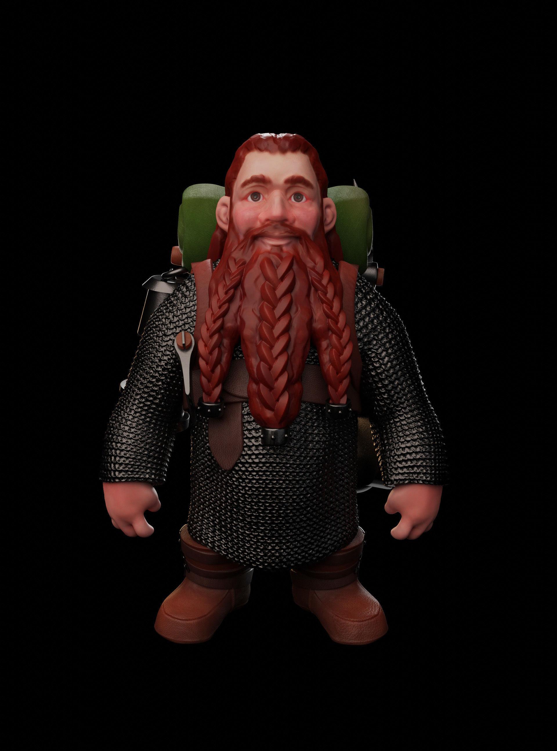 Dwarven Adventurer - Glod Glodson