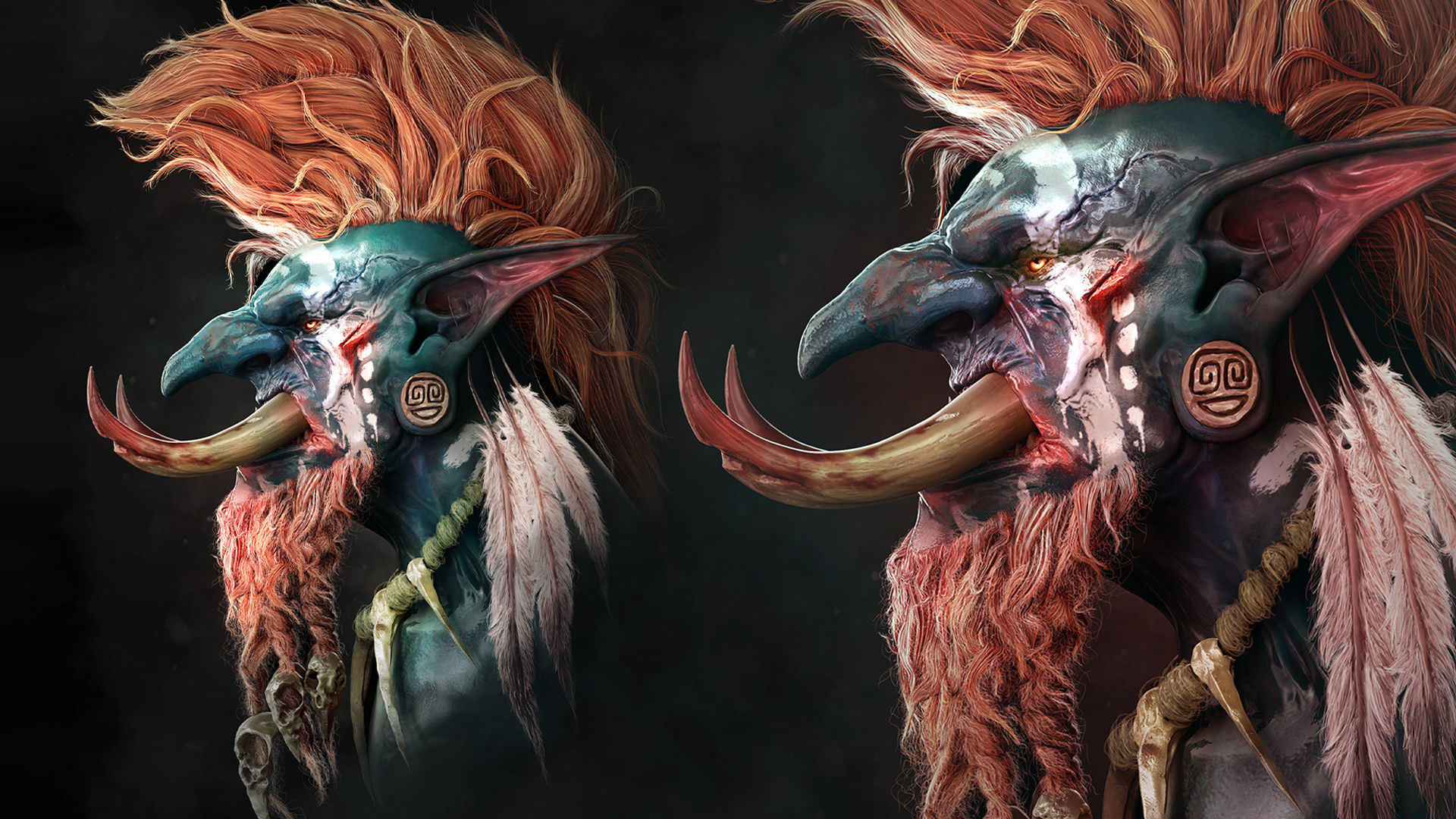World of Warcraft sculpture