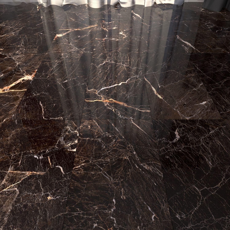 Marble Floor Java Brown Set 1