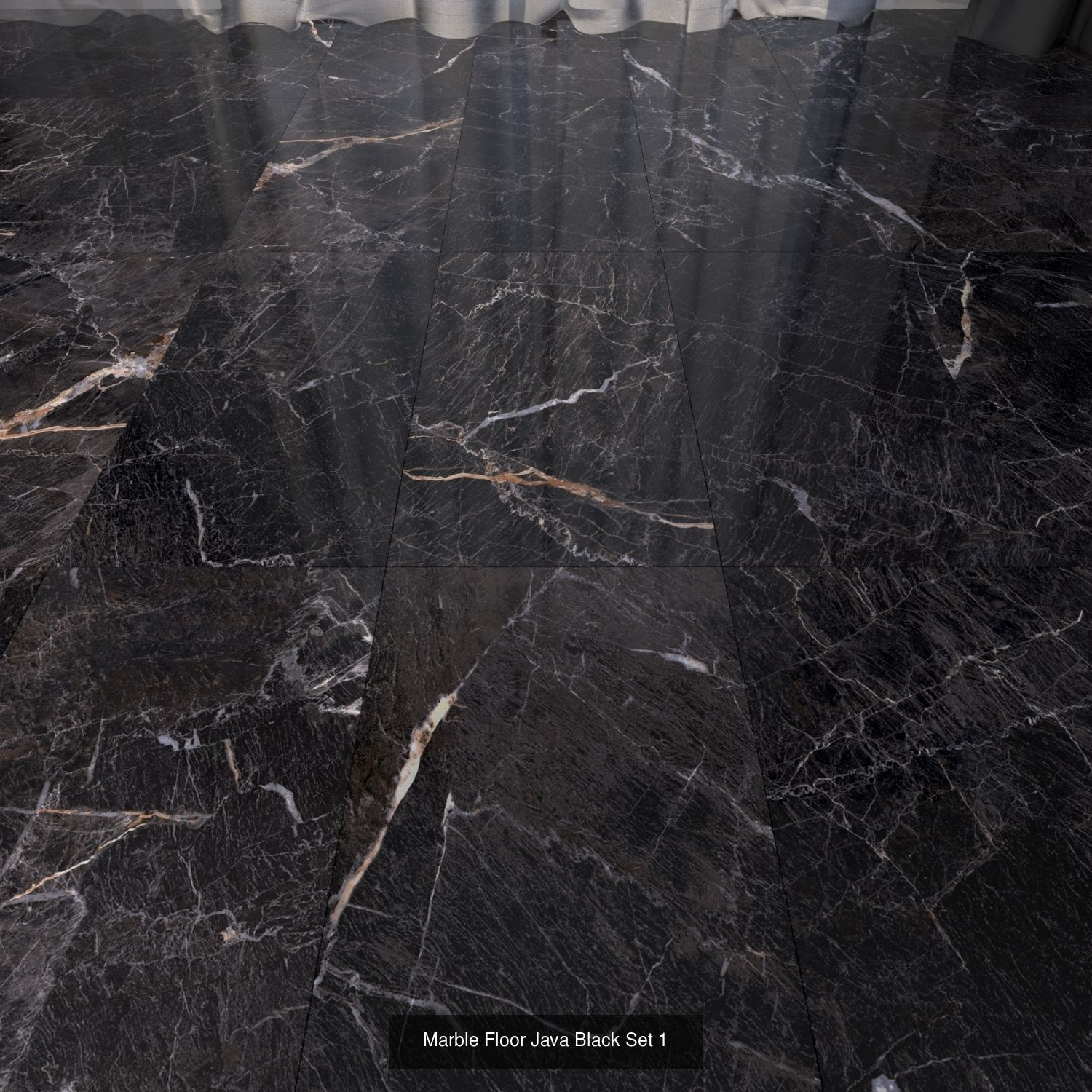 Marble Floor Java Complete Set