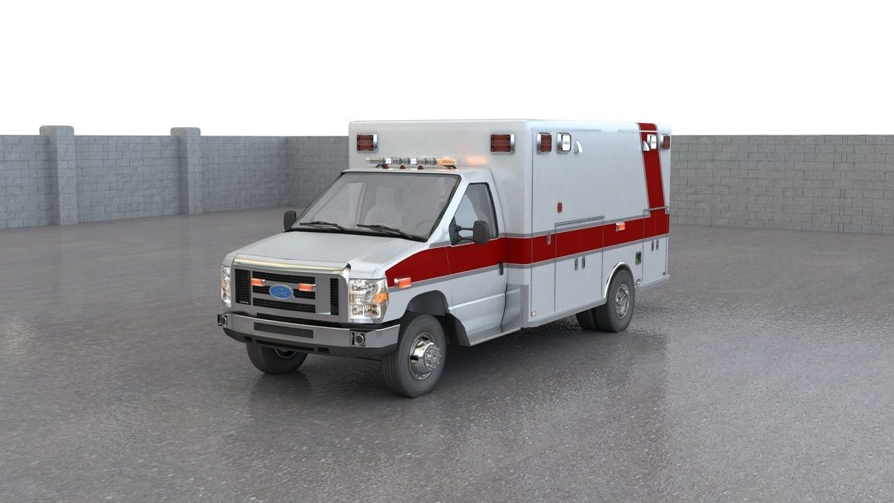 Ford E450 Ambulance