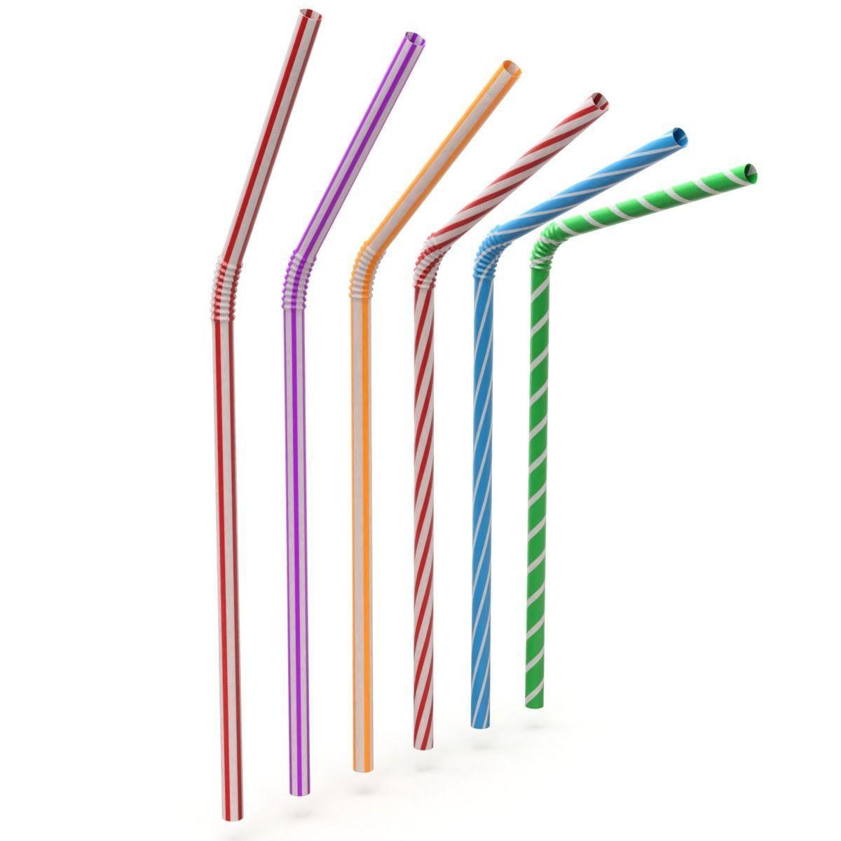Rigged Drink Straw