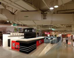3D model Supermarket