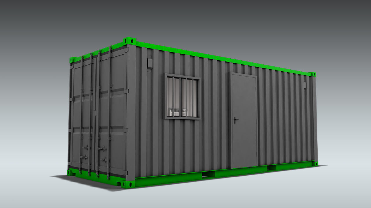 Shipping Container Office or Home