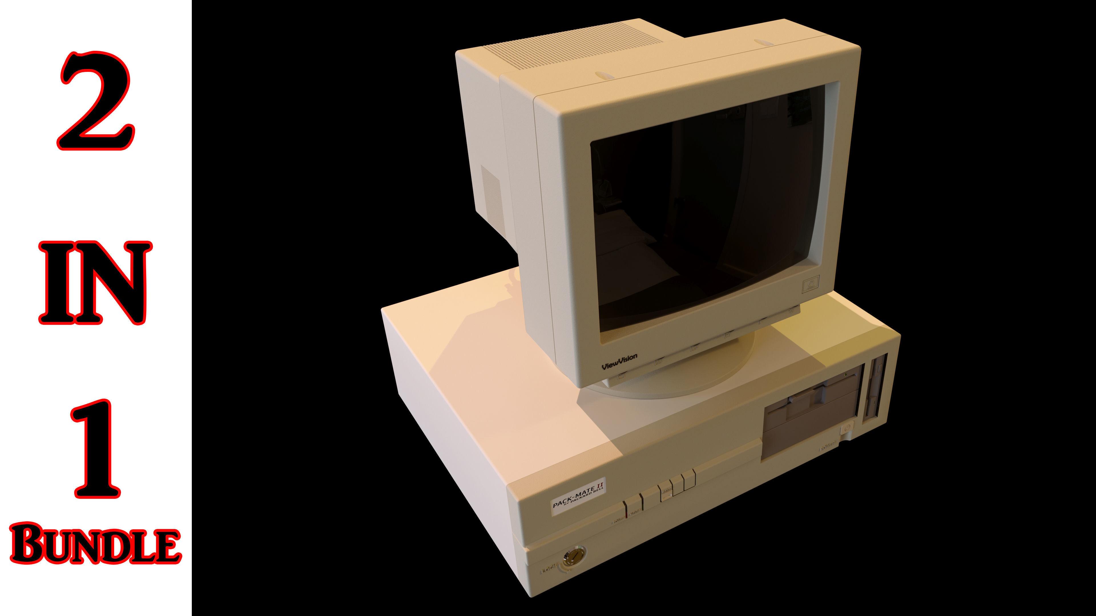 Vintage PC 2 in 1 Bundle