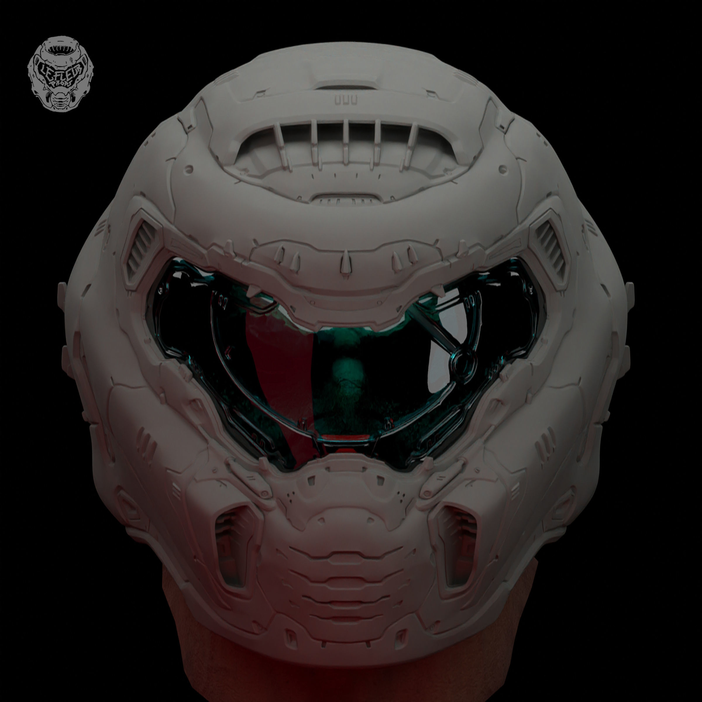 3d Printable Model Doom Eternal Slayer Helmet Cgtrader