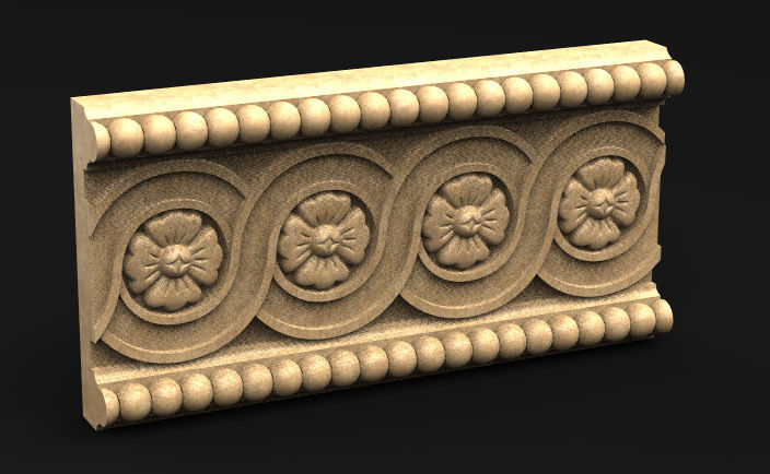 Decorative Panel 1   3D model