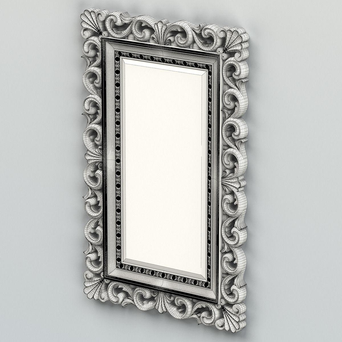 3D model Rectangle mirror frame 010 | CGTrader