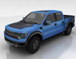 Ford F150 SVT Raptor 3D Model