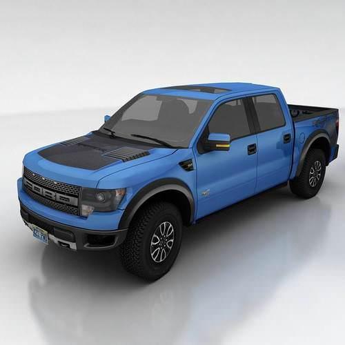 Ford F150 SVT Raptor3D model