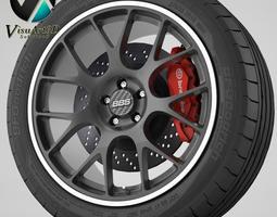Wheel BBS CH-R 3D Model