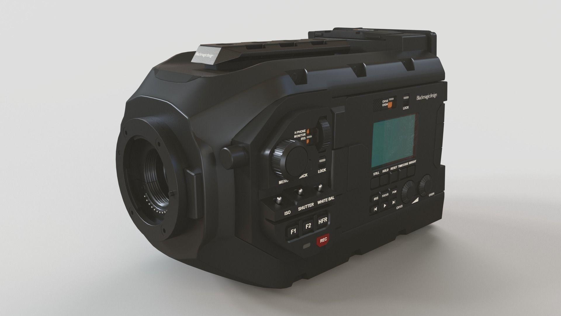 Blackmagic URSA Mini Movie Camera