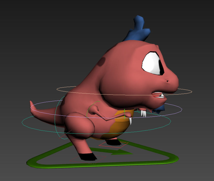 Cartoon Characters 3d Model : Rigged cartoon characters d model game ready max