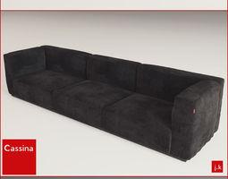 3d print model cassina mexcube sofa