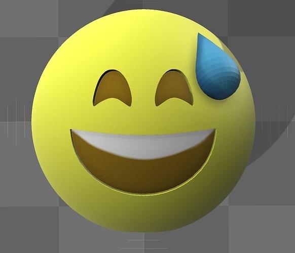 emoji 3d model wrl wrz 1