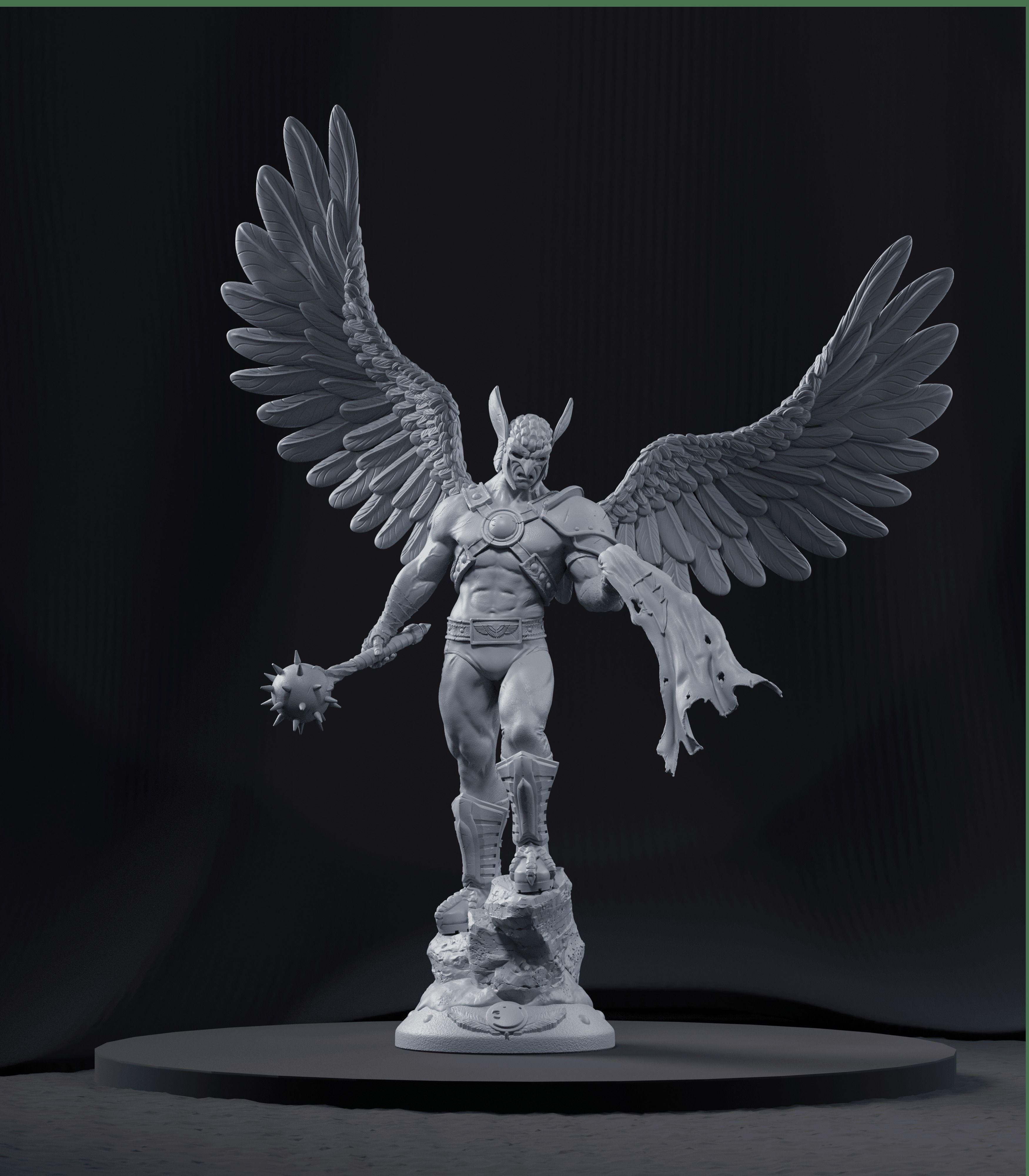 Hawkman - 3d Print Model