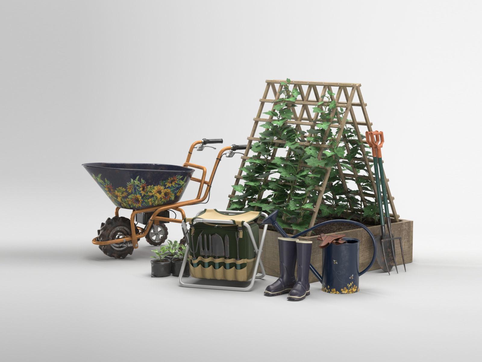 Garden tools set 01