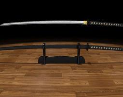 katana musashi 3d printable model