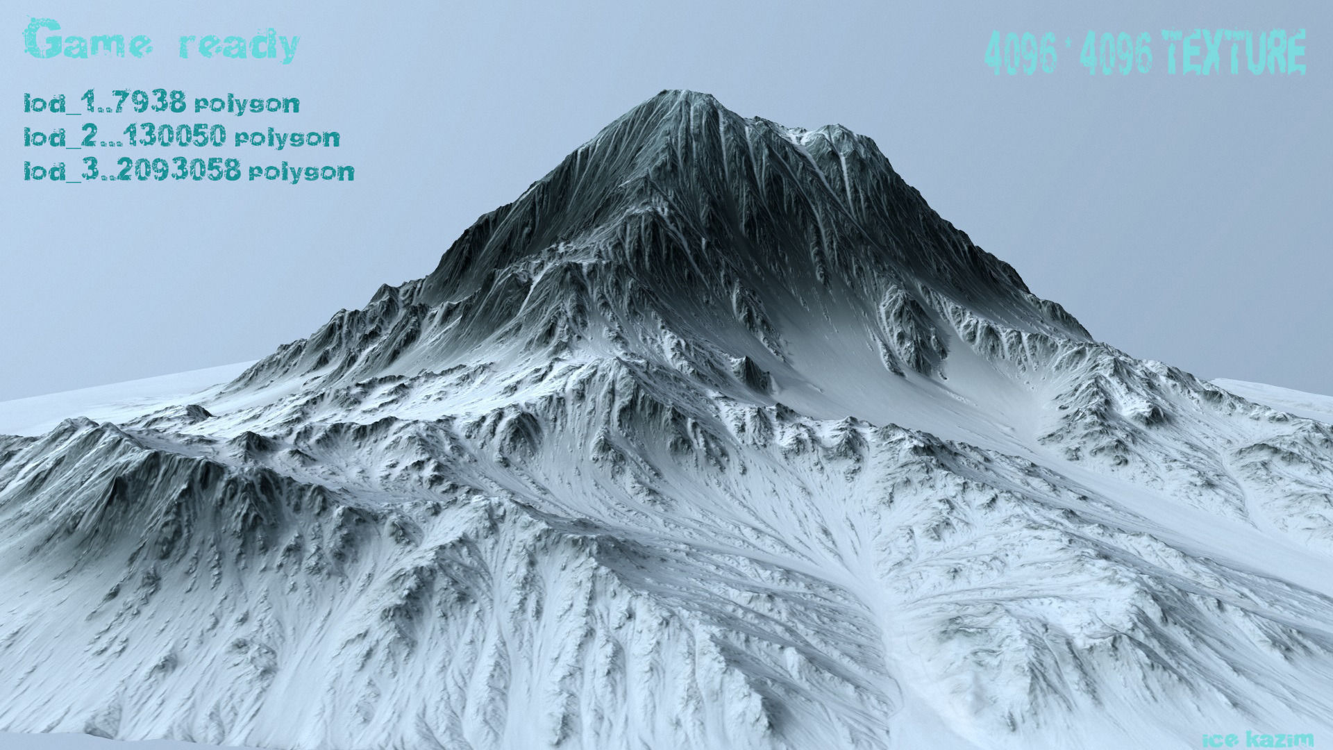 mountain 3d models cgtrader