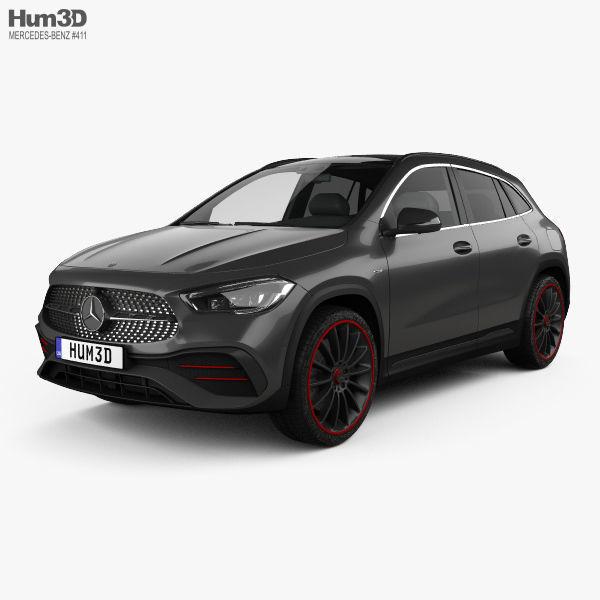 3D Mercedes-Benz GLA-class AMG-Line Edition 1 2020