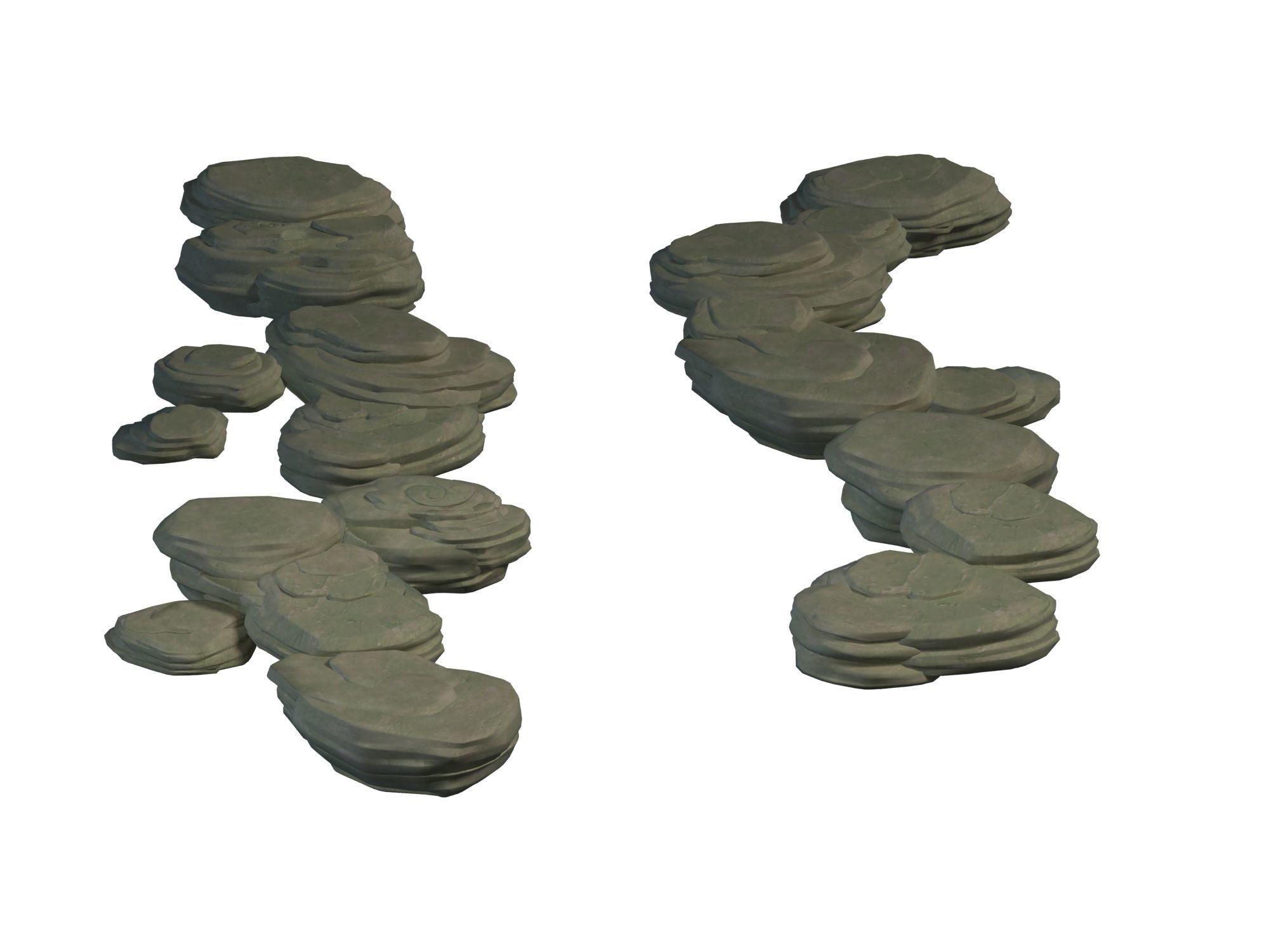 Terrain - Stone Path 06