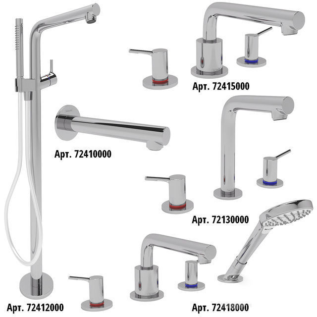 Bath Faucet Collection HANSGROHE Talis S set 2