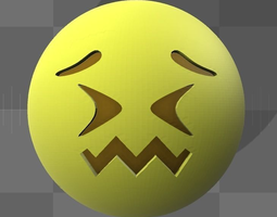 3D print model Emoji smiley