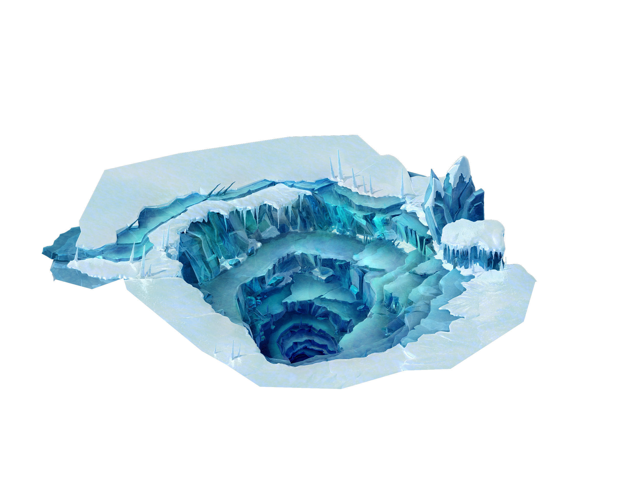Cold wind highland - ice hole 01