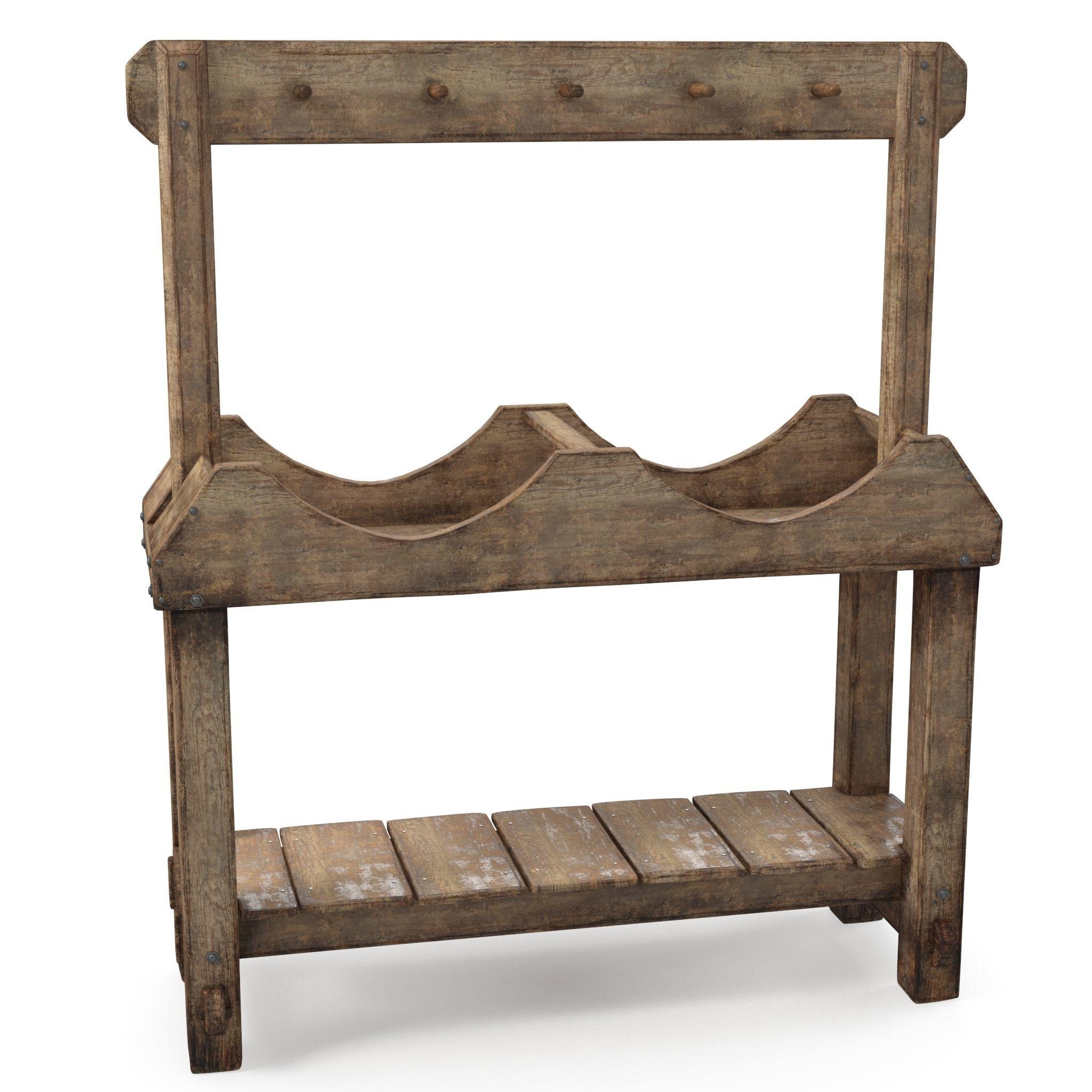 Floorstanding Double Barrel Stand