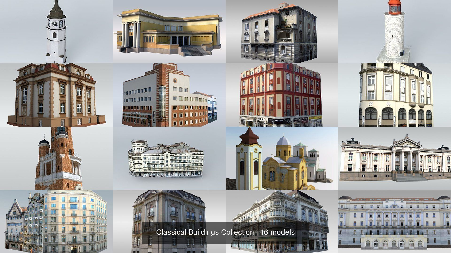 Classical Buildings Collection
