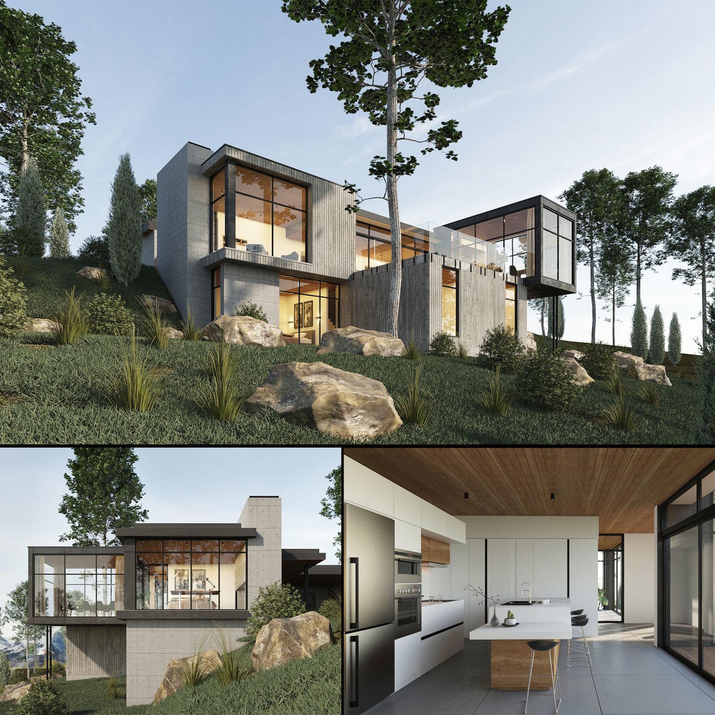 Long Horizontals House