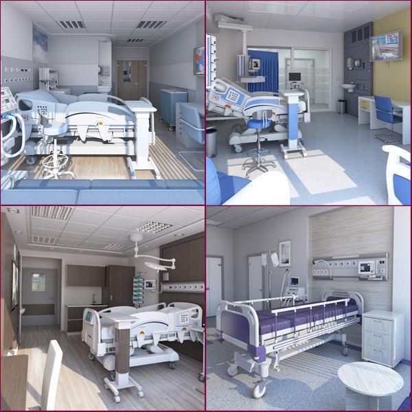 4 in 1 Patient Room  Pack
