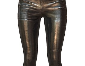 Legging Black 1 3D asset