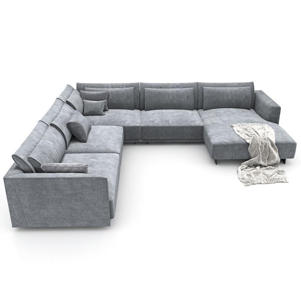 172-Sofa natuzzi LongBeach 2911 4