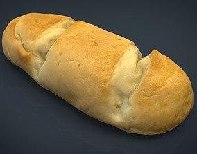 3D model Milk Bread