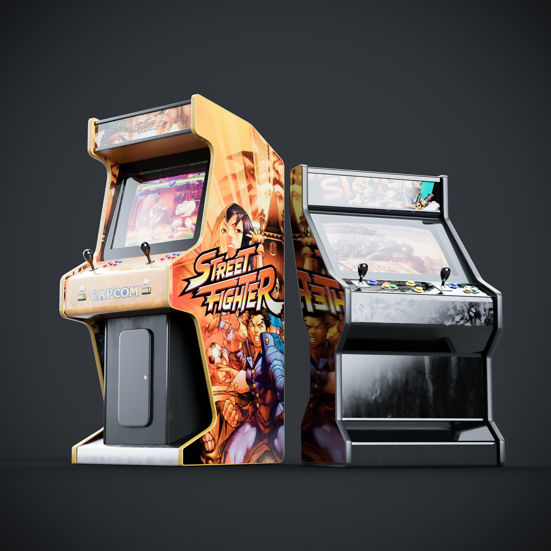 Arcade Game Machine Cabinet