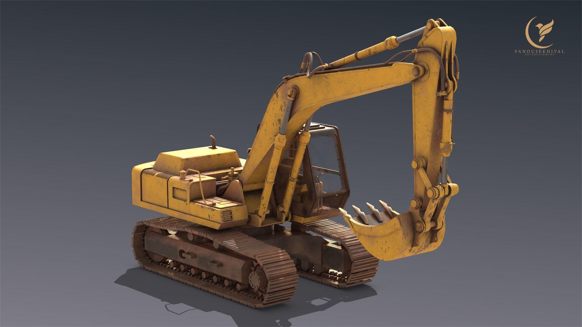 Excavator Hitachi FH200