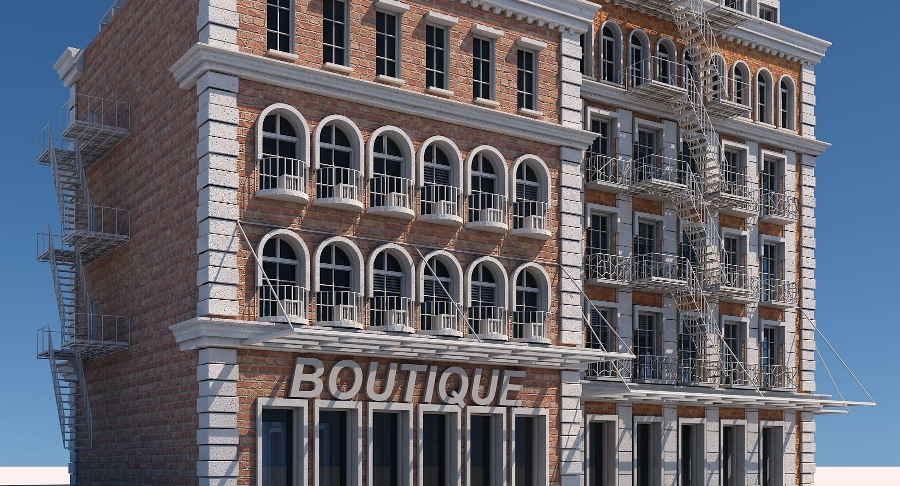Commercial Building Generator Houdini
