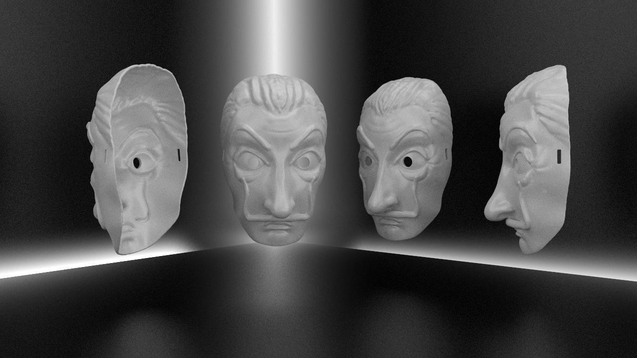 Dali party mask